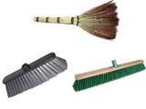 Метлы, веники, щетки для уборки
