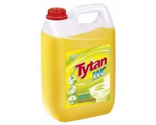 Средство чистящее для сантехники лимон 5л Tytan