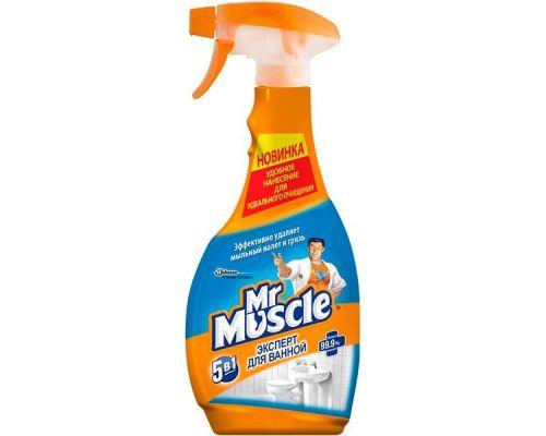 Средство чистящее для ванн 5в1 с распылителем (500мл), Mr. Muscle