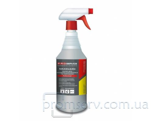 Средство чистящее для ванн MAXICLEAN с распылителем (1л), PROservice