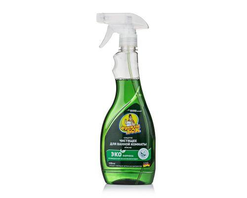 Средство чистящее для ванн Яблоко с распылителем (500мл), ФБ