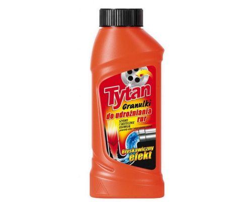 Средство для прочистки труб гранулы 250г Tytan