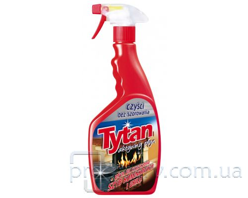 Средство чистящее для гриля и камина с распылителем (500мл), Tytan