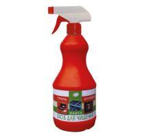 Средство чистящее для гриля, плит и духовок с распылителем (900мл), Сана