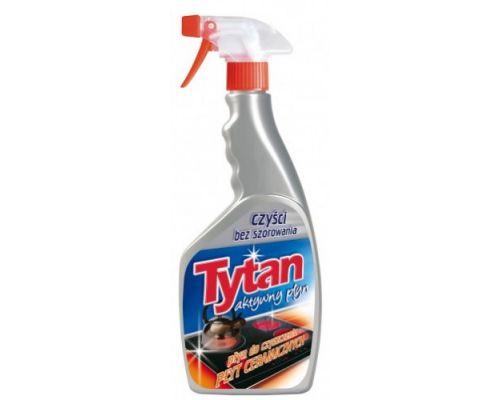 Средство чистящее для керамических плит с распылителем (500мл), Tytan