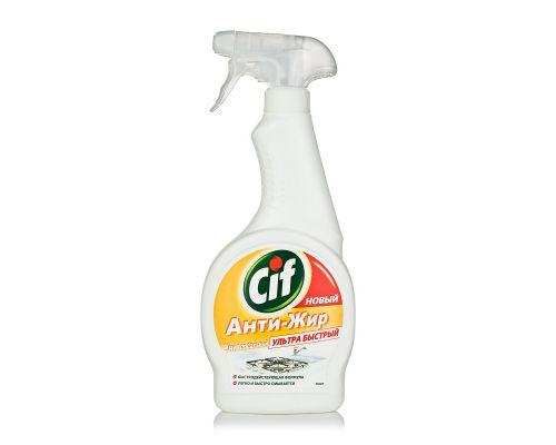 Средство чистящее для кухни Анти-Жир с распылителем (500мл), Cif