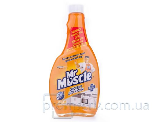 Средство чистящее для кухни Энергия цитруса запаска (500мл), Mr. Muscle