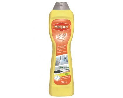 Средство чистящее крем лимон (500мл), Helper