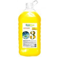 Средство моющее для пола и стен универсальное цветочное, ПЭТ (5л), EcoMax