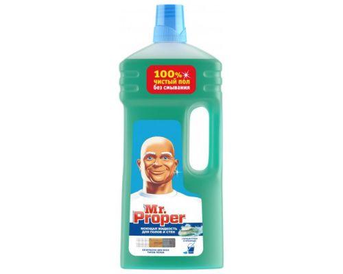 Средство моющее для пола и стен универсальное Горный источник и прохлада (1,5л), Mr. Proper