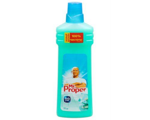 Средство моющее для пола и стен универсальное Горный источник и прохлада (750мл), Mr. Proper