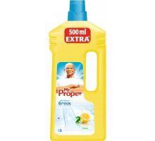 Средство моющее для пола и стен универсальное Лимон (1,5л), Mr. Proper