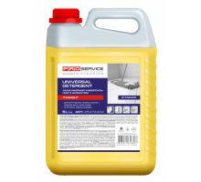 Средство моющее для пола и стен универсальное лимон канистра (5л), PROservice