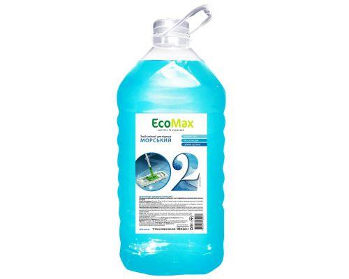 Средство моющее для пола и стен универсальное морское, ПЭТ (5л), EcoMax
