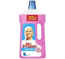 Средство моющее для пола и стен универсальное Роза (1л), Mr. Proper