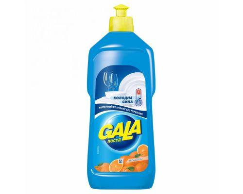 Средство моющее для посуды Апельсин, флип (500мл), Gala