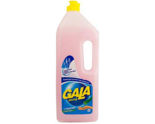 Средство моющее для посуды бальзам+алоэ (1л), Gala