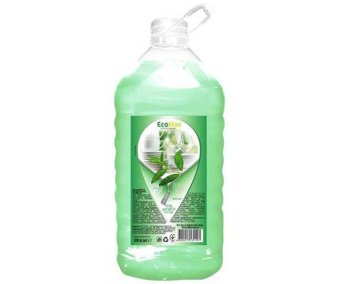 Средство моющее для посуды бальзам и масло чайного дерева, ПЭТ (5л), EcoMax