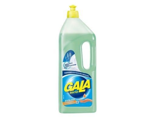 Средство моющее для посуды Бальзам с глицерином и витамином Е, флип (1л), Gala