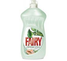 Средство моющее для посуды Нежные руки, Чайное дерево и мята, флип (500мл), Fairy