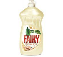 Средство моющее для посуды Нежные руки, Ромашка и витамин Е, флип (500мл), Fairy