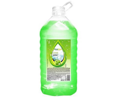 Средство моющее для посуды яблоко, ПЭТ (5л), EcoMax