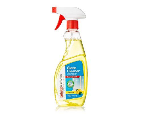 Средство для стекл и зеркал с нашатырн.спиртом лимон с распылителем (500мл), PROservice