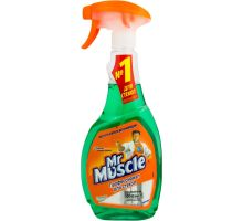 Средство для стекл и зеркал с распылителем (500мл), Mr. Muscle