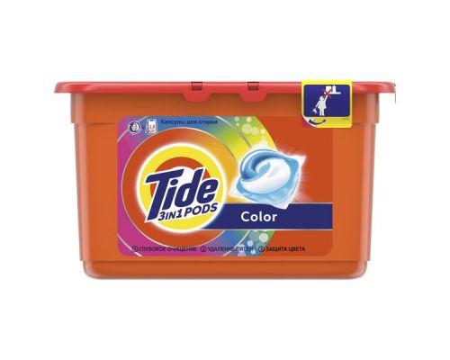 Капсулы-гель для стирки Color (22,8г*12шт), Tide