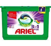 Капсулы-гель для стирки Color (23,8г*12шт), Ariel