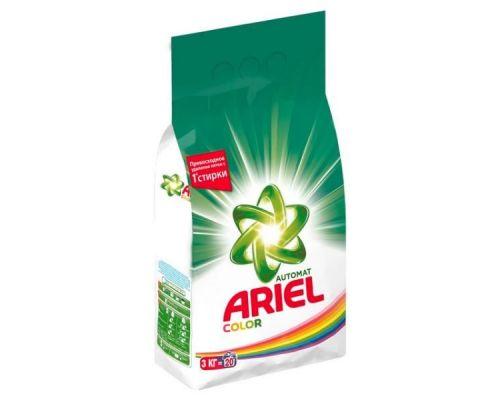 Порошок для стирки атомат Color Style (3кг), Ariel