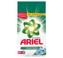 Порошок для стирки атомат Горный источник 6кг Ariel