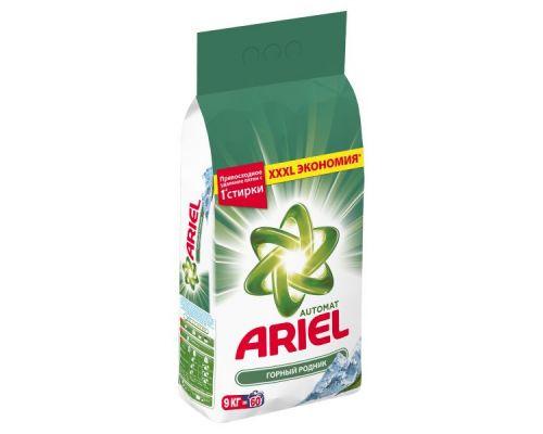 Порошок для стирки атомат Горный источник (9кг), Ariel