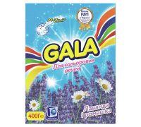 Порошок для стирки автомат Color Лаванда и ромашка (400г), Gala