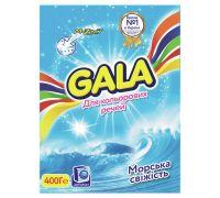 Порошок для стирки автомат Color Морская свежесть (400г), Gala