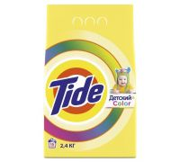 Порошок для стирки детского белья автомат Color (2,4кг), Tide