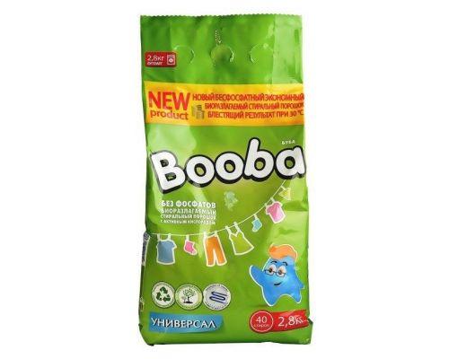 Порошок для стирки универсальный Booba (2,8кг)