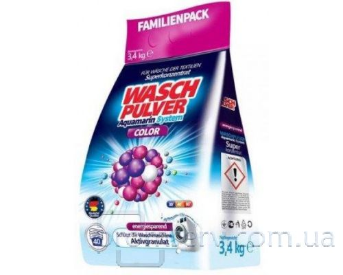 Порошок для стирки WASCH PULVER COLOR (3,4кг)