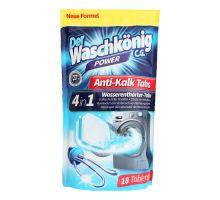 Таблетки для чистки стиральной машины Антинакипь 4в1 WASCHKONIG (18шт)