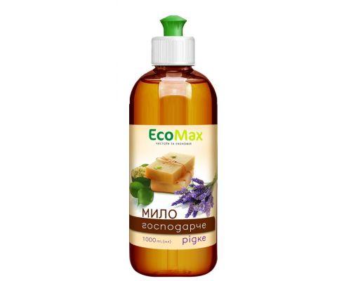 Мыло жидкое хозяйственное пуш-пул 1л EcoMax