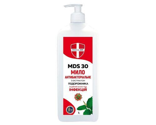 Крем-мыло жидкое антибактериальное MDS 30 с дозатором (950мл), Medical Def