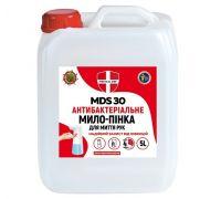 Мыло-пена жидкое антибактериальное MDS 30 канистра (5л), Medical Def