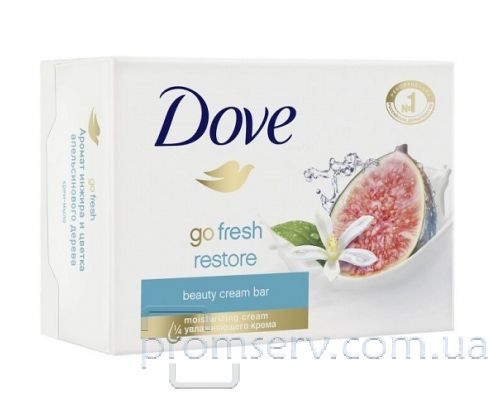Крем-мыло твердое Инжир и лепестки апельсина (100г), DOVE
