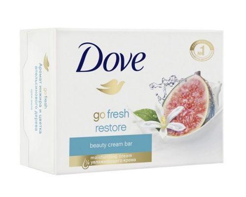 Крем-мыло твердое Инжир и лепестки апельсина (135г), DOVE