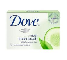 Крем мыло твердое Прикосновение свежести 135г DOVE