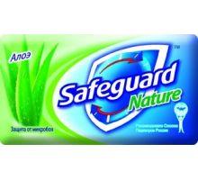 Мыло туалетное твердое Алоэ (90г), Safeguard