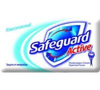 Мыло туалетное твердое Классическое (90г), Safeguard