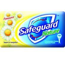 Мыло туалетное твердое Ромашка (90г), Safeguard