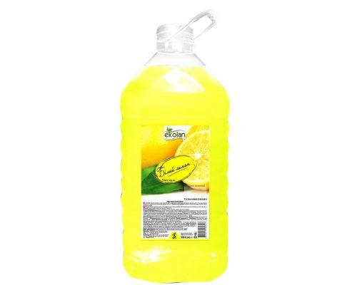 Мыло жидкое белый лимон, ПЭТ (5л), Ecolan