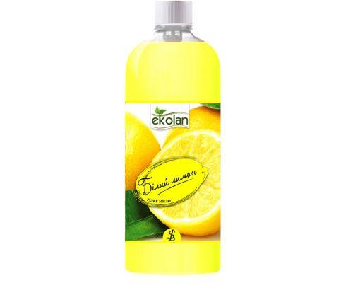 Мыло жидкое белый лимон, запаска (500мл), Ecolan